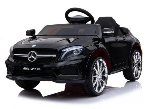 Voiture electrique enfant Mercedes GLA45 noir metal