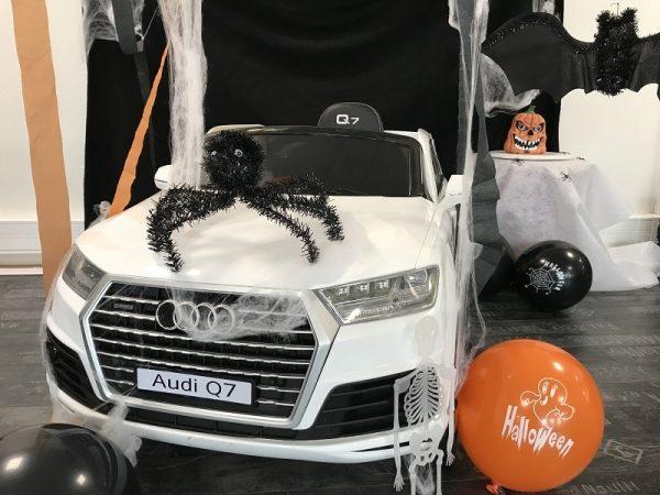 Voiture enfant Audi Q7 portes ouvrantes