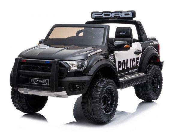 Voiture police enfant Ford Raptor Police noir