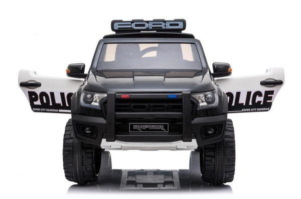 Voiture pour enfant Ford Ranger Raptor noir Police