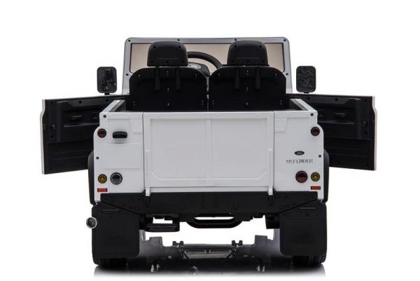 Voiture pour enfant Land Rover Defender Blanc