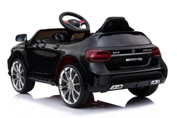 Voiture pour enfant Mercedes GLA45 noir métal