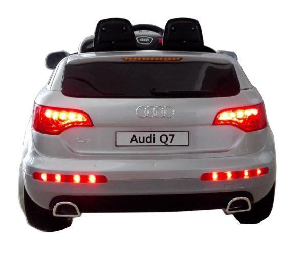 4X4 électrique enfant Audi Q7 gris 12V - Vue arrière