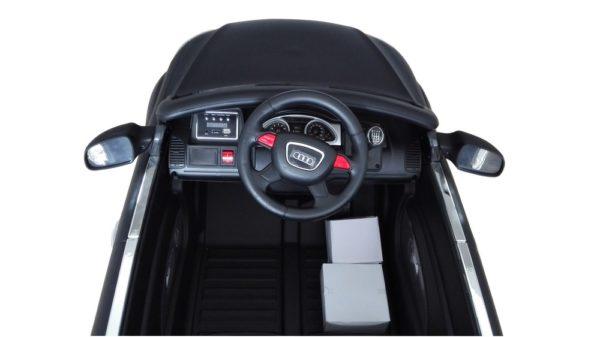 Tableau de bord Audi Q7 électrique pour enfant Noir mat