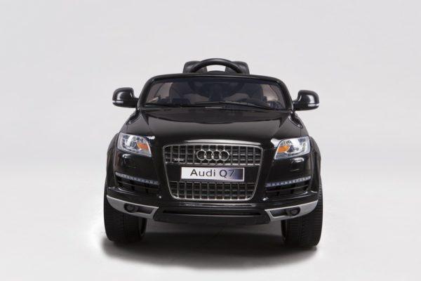 Voiture électrique enfant Audi Q7 noir metal 12V - Vue de face