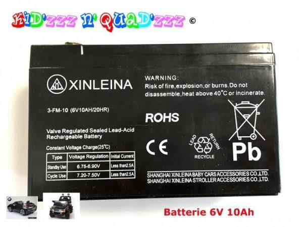 Batterie 6V 10Ah