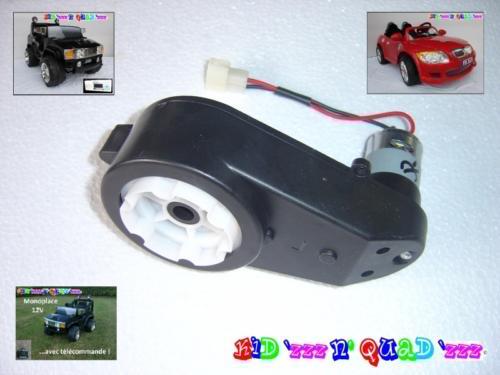 Blocs moteur et transmission 12V