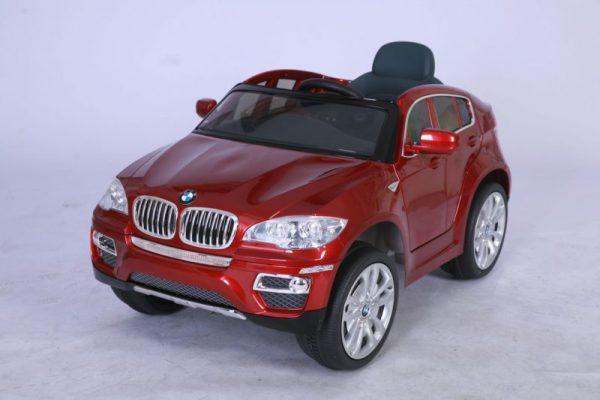 Voiture pour enfant BMW X6 électrique - 12V - Rouge