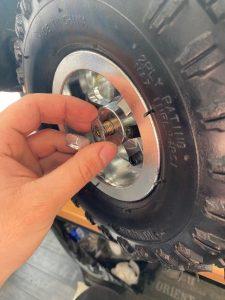 démonter roue cobra