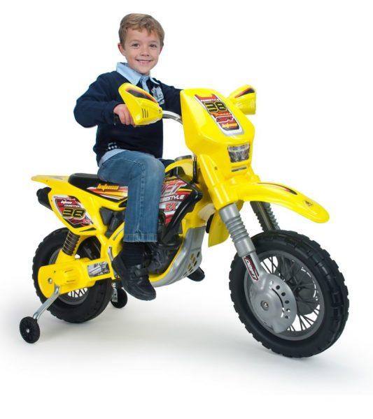 Dirt Bike électrique pour enfant INJUSA Thunder VX Jaune