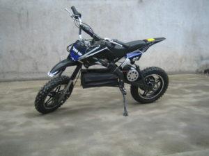 Moto Dirt Bike enfant moto électrique ZZZ 800 Noir