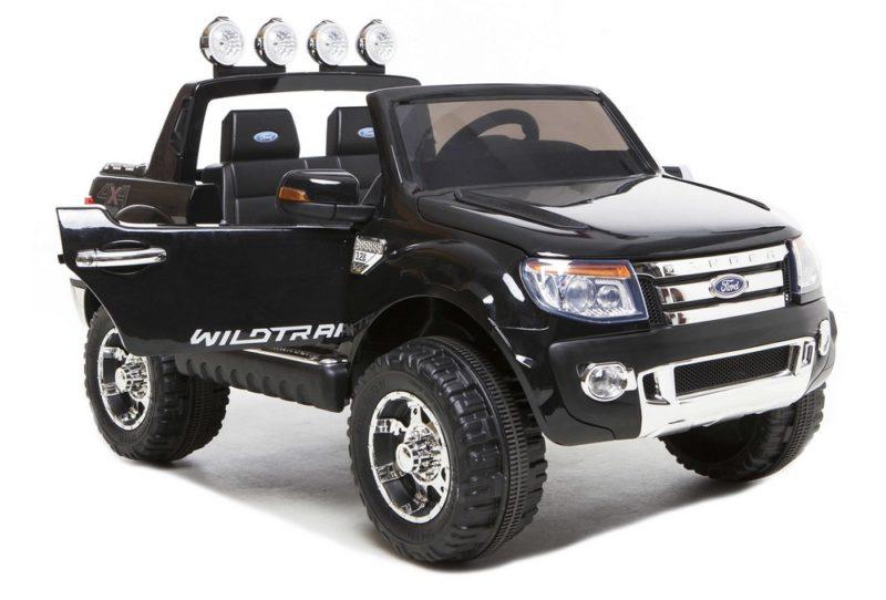 Ford Ranger Wildtrak noir électrique 12V pour enfant
