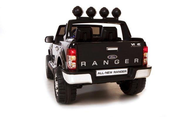 Ford Ranger noir électrique 12 V pour enfant vue arrière