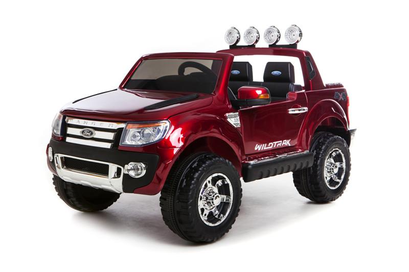 Ford Ranger enfant voiture électrique 12v rouge