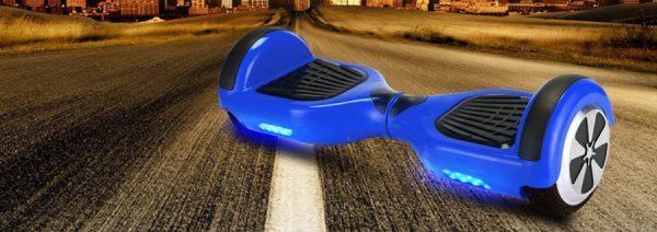 Gyropode électrique Motion 36V 600w bleu