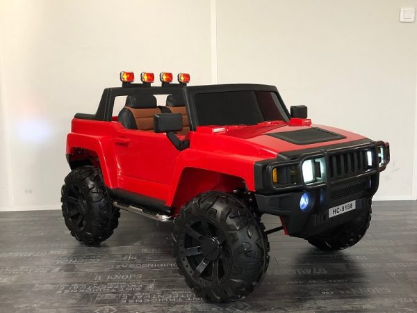 hummer enfant 2 places rouge