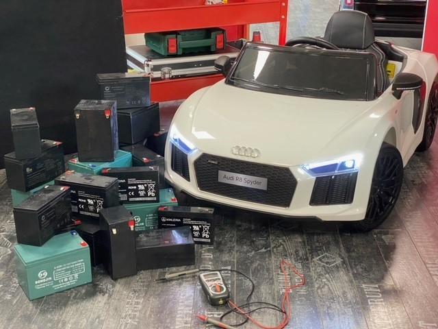 batterie voiture électrique enfant