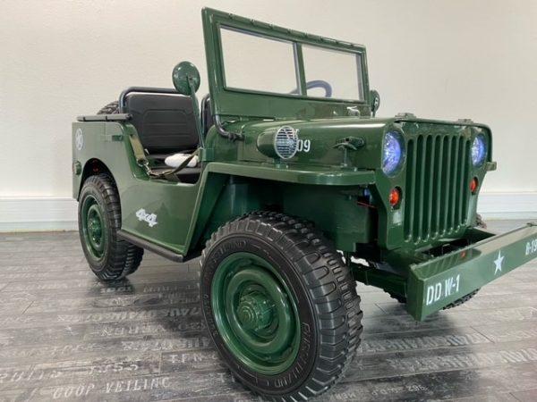 jeep willys 4 moteurs enfant