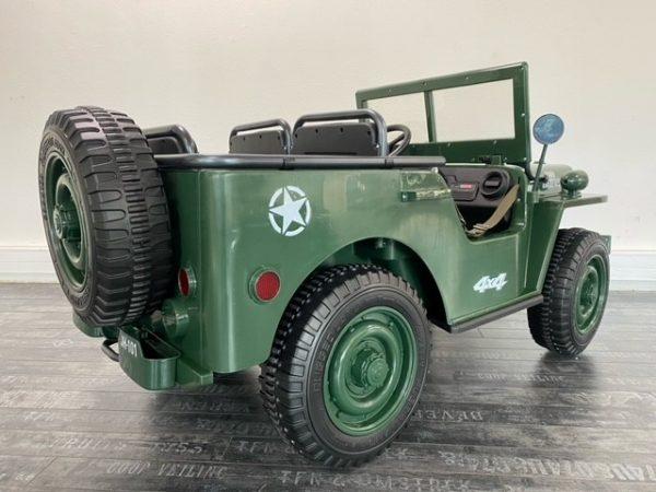 voiture electrique enfant 12V jeep willys