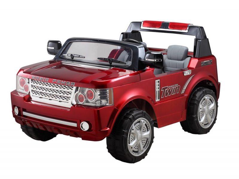4x4 électrique enfant biplace inspiré Range Rover