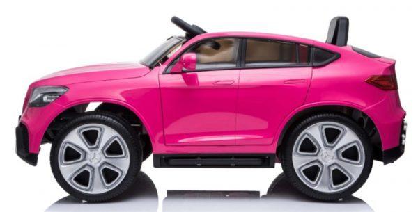 voiture enfant mercedes glc63 rose