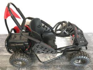 Kart electrique enfant 6 à 12 ans - Karty'zzz - vue de coté