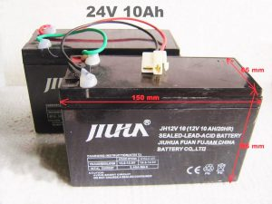 Kit Batteries 24V 10Ah