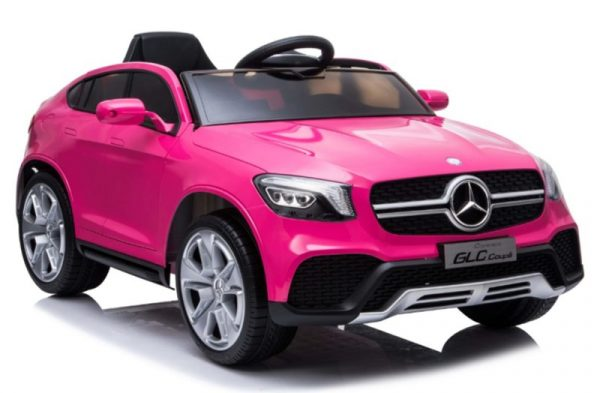 voiture electrique enfant Mercedes GLC63 rose