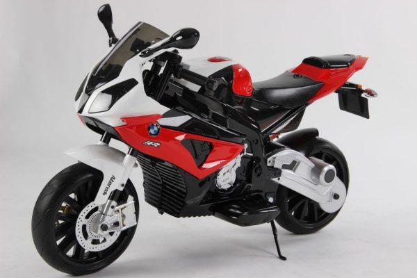 Moto électrique enfant BMW S1000RR - Rouge