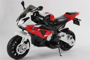 Moto électrique enfant BMW S1000RR - Rouge - vue 3/4 avant