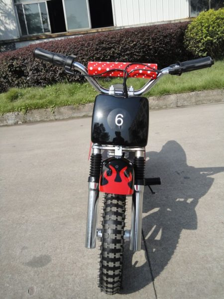 Moto électrique enfant  ZZZ350 dirt bike 350W 24V