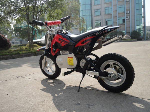 Moto dirt électrique pour enfant  6 à 9 ans ZZZ 350 24V
