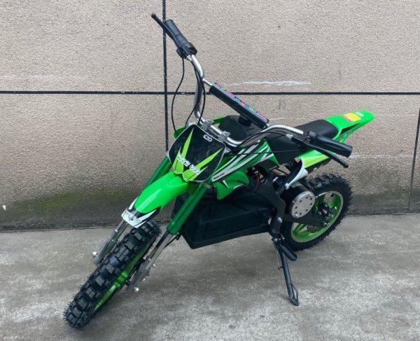 moto électrique ZZZ800 verte pour enfant