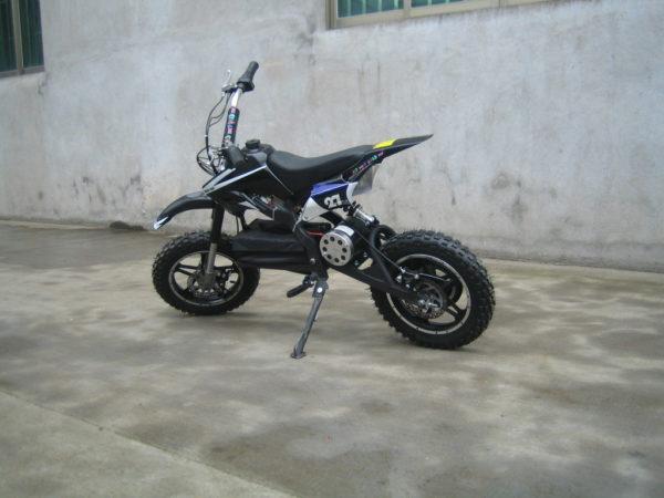 Dirt Bike électrique ZZZ800 3V pour enfant vue 3/4 arrière
