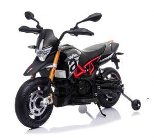 Moto électrique pour enfant Aprilia 12 volts