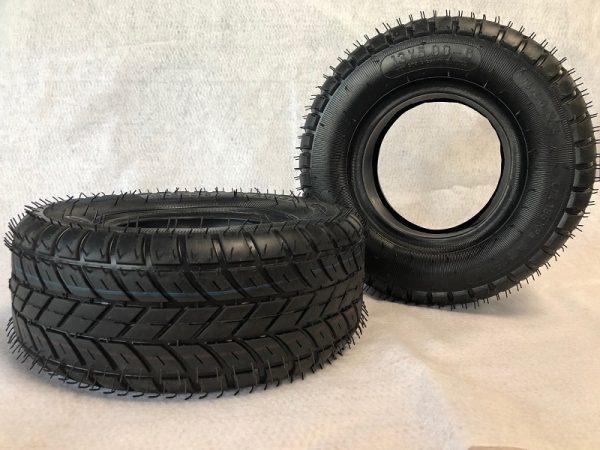 pneus semi-slick 6 pouces pour quads