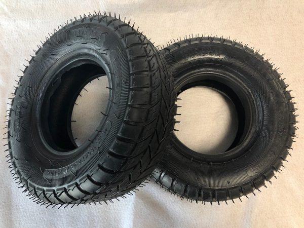 lot de 2 pneus 6 pouces pour quad