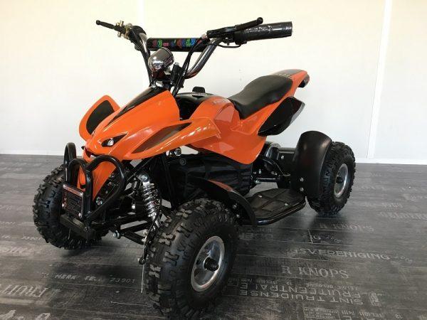 Quad électrique enfant 36 V Cobra 800 W orange