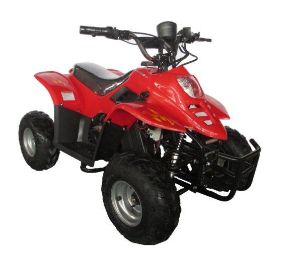 Quad enfant Dinosaur Pro 36V 500W rouge chez Kid'zzz n' Quad'zzz