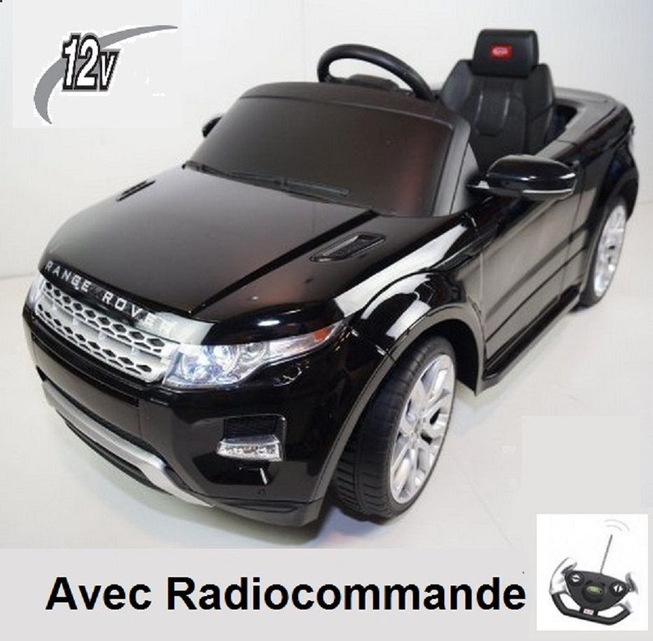 voiture lectrique enfant 12v range rover evoque kid 39 zzz. Black Bedroom Furniture Sets. Home Design Ideas