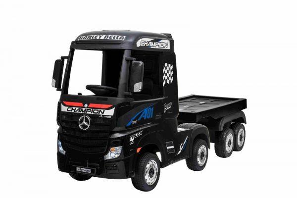 remorque camion pour enfant 12V
