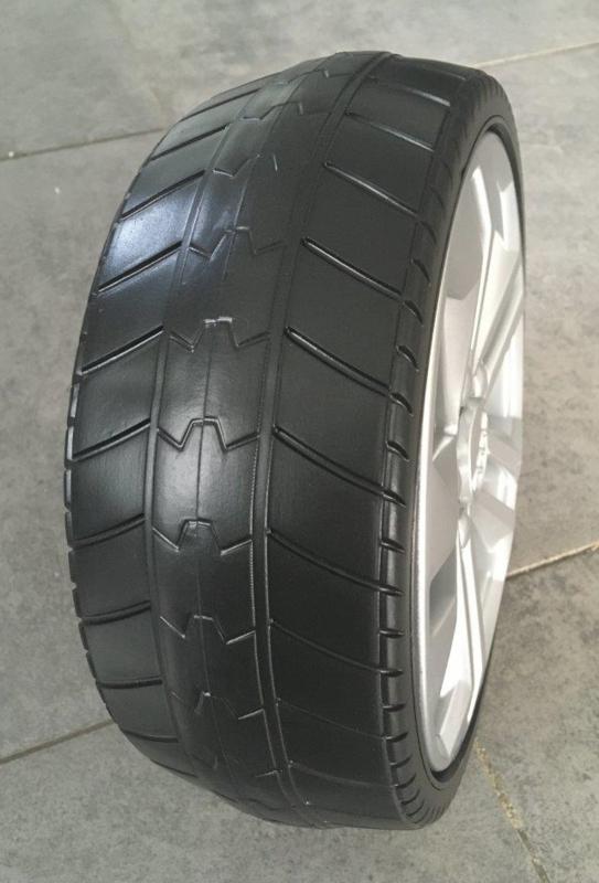 roues en mousse EVA Audi