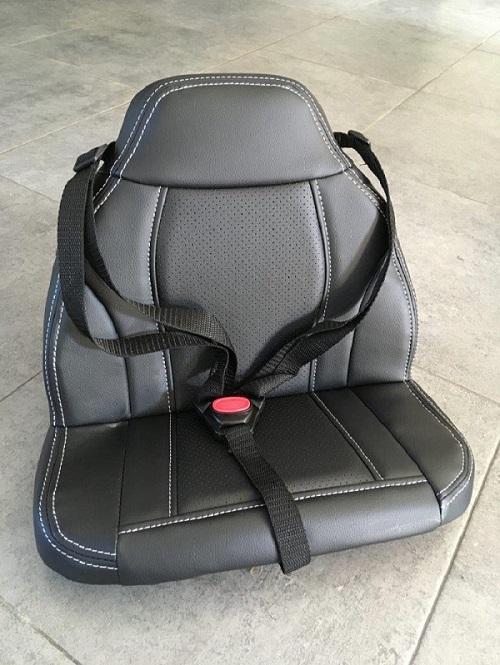 siège en simili-cuir pour BMW X6 enfant