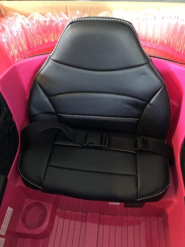 voiture enfant mercedes glc63s rose