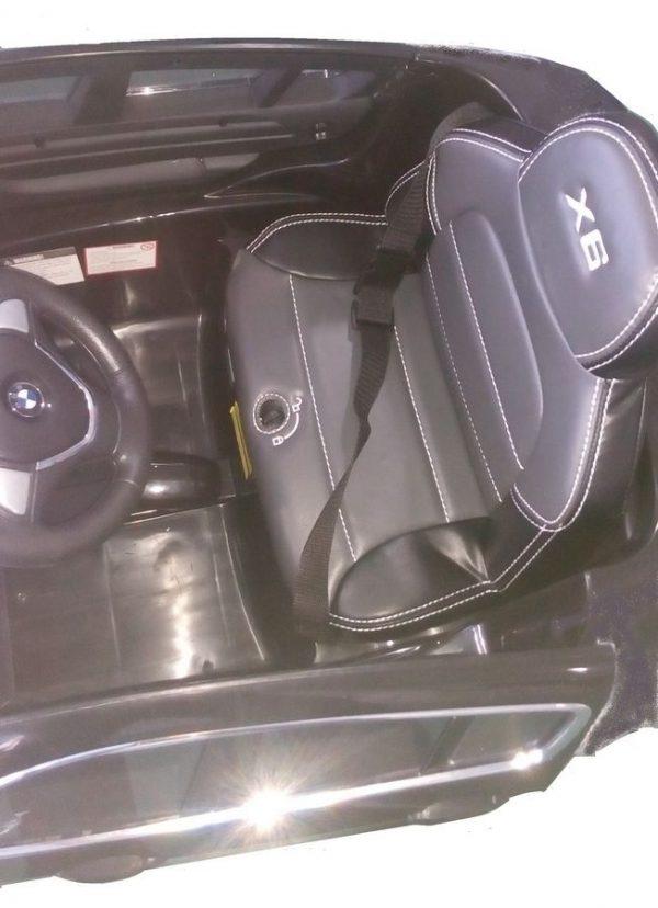 Siège voiture pour enfant BMW X6 électrique