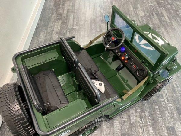 4x4 electrique enfant jeep willys