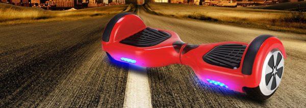 Hoverboard électrique Motion 36V 600w rouge