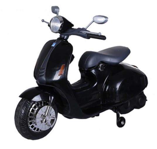 Scooter electrique enfant rétro 12V