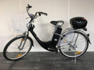 Vélo à assistance électrique 36V CITY BIKE noir