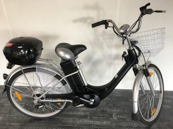 Vélo à assistance électrique (VAE) 36V CITY BIKE noir
